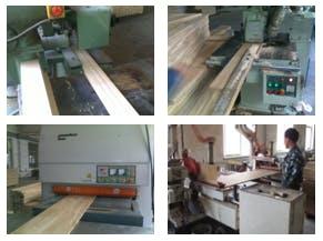 製造工程②プレーナー、サイズ加工